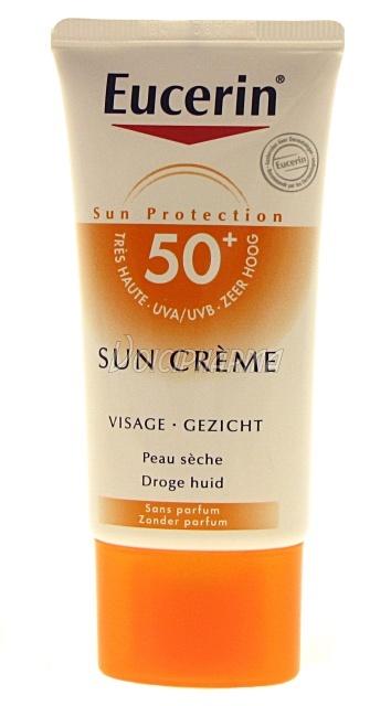 protections solaires fortes eucerin sun protection 50 cr me visage 50ml. Black Bedroom Furniture Sets. Home Design Ideas