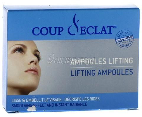 Masque lifting peeling coup d 39 eclat lifting 3 ampoules - Coup eclat lifting ampoules ...