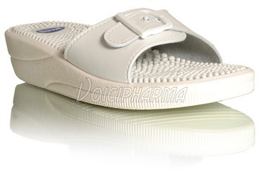 c8c0b0c89f5a0b Chaussures : Scholl Chaussures Mules Fitness Massage Blanc
