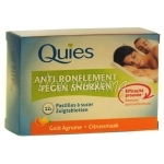 Quies Anti-Ronflement Pastilles à Sucer