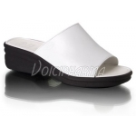 Scholl Chaussures Mules Chic Blanc