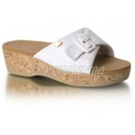 Scholl Chaussures Mules Wappy Blanc